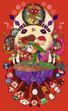 legend-of-breakfast:Work Done By アキラキラ (pixiv) The Legend Of Zelda, Legend Of Zelda Breath, Zelda Tattoo, Video Game Art, Video Games, Manga Games, Geek Stuff, Fan Art, Artwork