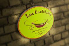 Placa restaurante mexicano Las Enchiladas
