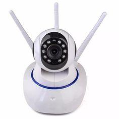 Camera de supraveghere video P2P YYZ100SS-XF2+3 960P, WiFi, Night Vision, Pan Tilt, Sunet bidirectional, senzor miscare TarabaPeNet.ro