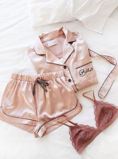 A pajama set for anyone, pretty in pink would be on the list, for sure