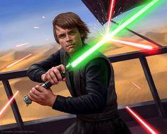 Luke Skywalker by Ryan Valle