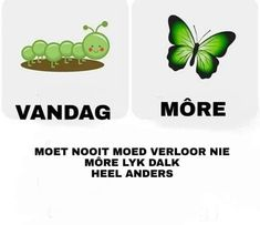 Nice Sayings, Goeie More, Afrikaans Quotes, Best Quotes, Tart, Affirmations, Motivation, Diamond, Garden