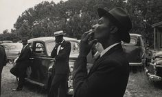 Funeral #8211; St Helena, South Carolina, 1955. Photograph: #169; Robert Frank... old funeral photographs are so beautiful