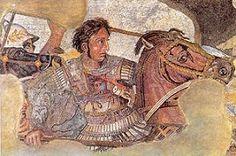 Mozaïek van Alexander de Grote