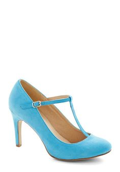 Skippin' Pretty Heel, #ModCloth. OMG is the only way to describe the way I feel about this shoe. I NEED IT!!!