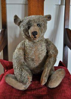 Antique Stuffed Teddy Bears | Old Teddy Bear I Think I M In Love #teddy, #teddies, #bears, #toys, # ...