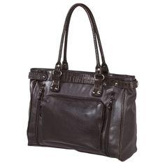 Bueno Laptop Tote Handbag - Dark Brown $34.99