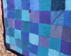 Environmental Textile Artist blankets clothes by Crispinaffrench