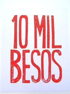 ♥AMOR y CORAZONES♥... 10 mil besos,ten thousand kisses