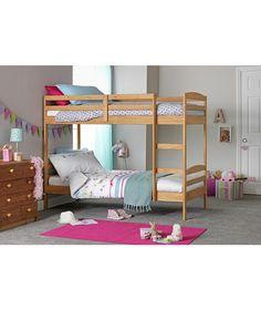 Buy Josie Pine Shorty Bunk Bed with Elliott Mattress at Argos.co.uk - Your Online Shop for Children's beds, Children's beds, Children's beds, Children's beds.