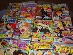13 ShoNen Jump Magazines 2008-2009