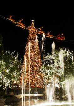 Christmas at the Grove, Los Angeles, CA