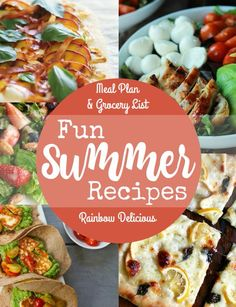 Fun Summer Recipes