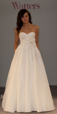 I love this dress. I never really wanted a poofy dress at the bottom, more of a form fitting one, or a flowy Greek goddess one, but I LOVE THIS.