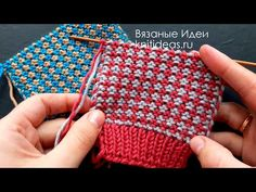 How to Crochet the Even Berry Stitch Knitting Stitches, Knitting Yarn, Free Knitting, Baby Knitting, Two Color Knitting Patterns, Color Patterns, Easy Knitting Projects, Crochet Projects, Mosaic Knitting
