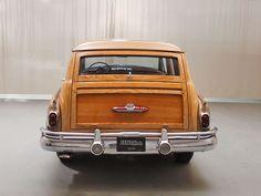1952 Buick Roadmaster Station Wagon Rear View