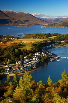 Plockton in Autumn, Scottish Highlands.