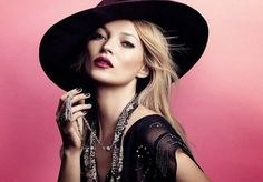 ☆ Kate Moss | For Rimmel Campaign | Spring 2014 ☆ #Kate_Moss #Rimmel #2014