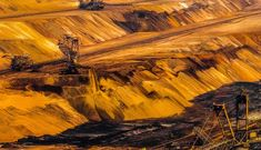 Large Scale Brown Coal Mining by olafholland Coal Mining, Photos Of The Week, Antelope Canyon, Wonderful Places, Places To See, Landscape Photography, Travel Photography, Nature, Painting