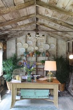 garden shed ~ converted