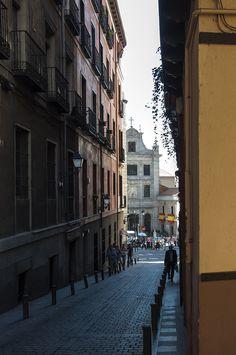 📷 @jlajaus 2017. Madrid de los Austrias. Iglesia de las Bernardas del Sacramento desde la calle de San Nicolás