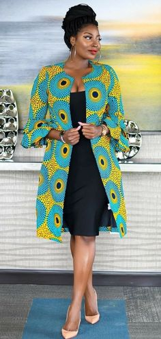 Items similar to Ankara jacket african jacket african dresses summer dresses wom. - Items similar to Ankara jacket african jacket african dresses summer dresses womens dresses wax print dress on Etsy Source by marajung - Latest African Fashion Dresses, African Print Fashion, Africa Fashion, Fashion Prints, African Prints, Modern African Dresses, Ankara Fashion, Modern African Fashion, African Dresses For Women