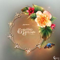 """Moonbeam's """"Enchanted Begonias"""""""