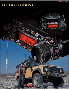 Yaesu FT-857d - Fantastic radio for Mobile, Portable or Homebase use.