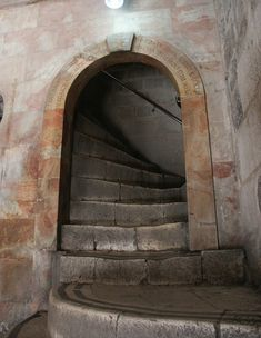 *JERUSALEM~Steps to Golgotha, Church of the Holy Sepulchre.