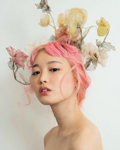 Fernanda Ly backstage at Christian Dior Haute Couture, Tokyo Newborn photoshoot by AJ Foto and LV photography. Beautiful floral dresses by Elaine…Dior Couture sweet first photo of father and child via… Dior Haute Couture, Couture Fashion, Gothic Fashion, Photo Portrait, Portrait Photography, Pastel Photography, Photography Magazine, Editorial Photography, Modeling Photography