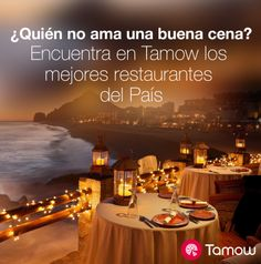 Termina con el ensayo y error en los restaurantes, con Tamow encuentra los mejores.