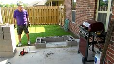 Hello, I am Cy from Cy's Corner and this is a project from the mind of my Husband.  He wanted to make an area specifically for the barbecue!  I made a video of…