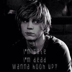 """Hi I'm Tate, I'm dead, wanna hook up?"" - Tate Langton ||AHS Murder House||"