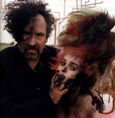 Tim Burton and Helena Bonham Carterphoto by Tim Walker