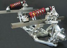 Cantilever pushrod front suspension from JME Enterprises