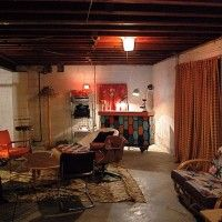 Unfinished Basement Ideas On Budget Ideas For The House