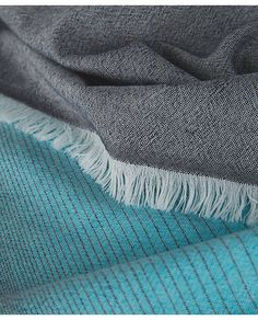 The Colour Edit: Peacock Blue. Love and Light Scarf.