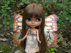 Heather Sky Fairy Blythe by Heather Fogg (rowdyHarv).