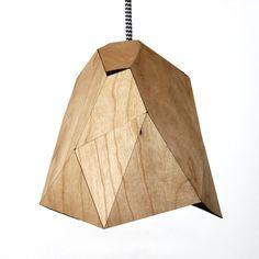 Kink Wood Lampe