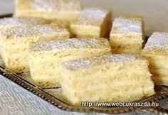 Grillázs szelet és torta