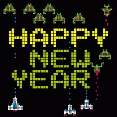 happy new years retro gamer gif retro gamer arcade happy new year savage