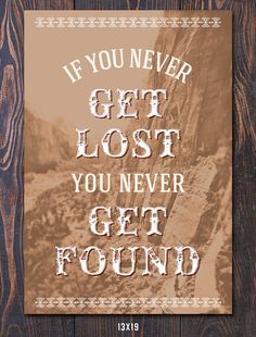 Lost and Found Travel-Inspired Print by Earmark