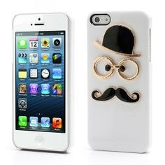 iPhone 5, 5s Funny 3D Chaplin case, cover, hoesje