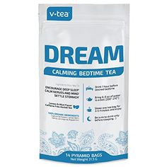 v tea Dream Calming Bedtime Tea  Sleepy Time  Calm Nerves  Settles Stomach  100  Organic  Caffeine Free  14 Sachets -- Read more  at the image link. Note: It's an affiliate link to Amazon.