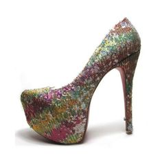 cheap Christian Louboutin Daffodile Sheet Colorful Pumps 160mm.Please click picture to buy and get more detail.