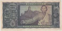 Státovky II. emise (1920-1923) - Papírová platidla, bankovky Banknote, Money, Painting, Art, History, Painting Art, Paintings, Kunst, Paint