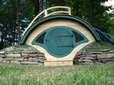 Buy a Unique and Fun Hobbit Hole Playhouse - Hobbit Hole playhouses, chicken coops, sheds, cottages, saunas, more!
