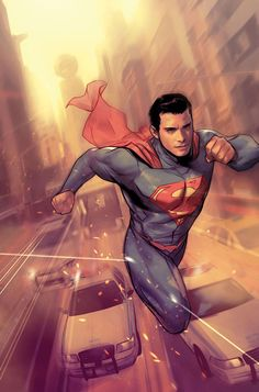 """DC COMICS (W) Peter J. Tomasi (A) Fernando Pasarin (CA) Ben Oliver """"Final Days"""" continues-as two Supermen meet at last: pre-New 52 Superman meets the current Clark. A force seeking to end both Men of Batman Vs Superman, Arte Do Superman, First Superman, Superman Artwork, Superman Man Of Steel, Superman Family, Superman Facts, Original Superman, Arte Dc Comics"""