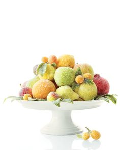 sugar plums and other fruits