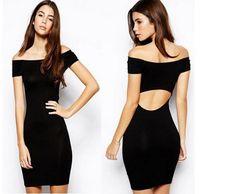 Fashion Style Off Shoulder Sexy Dress LAVELIQ